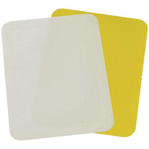 Selbstklebendes Kennzeichnungsschild A4 357x270mm- Gergosign