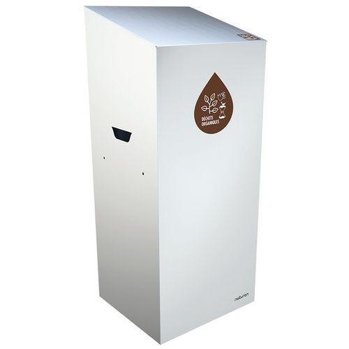 Abfallbehälter für Mülltrennung Uno- Biomüll- geschlossene Öffnung- 65L