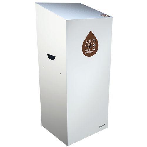Abfallbehälter für Mülltrennung Uno- Biomüll- geschlossene Öffnung- 20L