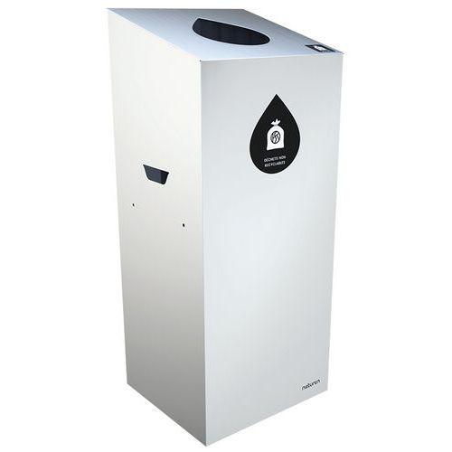 Abfallbehälter für Mülltrennung Uno- tropfenförmige Öffnung- 20L