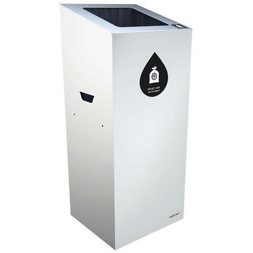Abfallbehälter für Mülltrennung Uno- quadratische Öffnung- 110L
