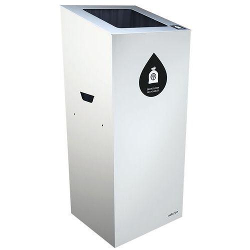 Abfallbehälter für Mülltrennung Uno- quadratische Öffnung- 20L