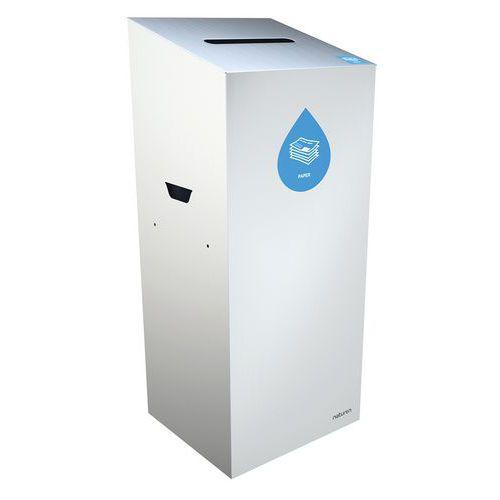 Abfallbehälter Uno für Papier- rechteckige Öffnung- 20L